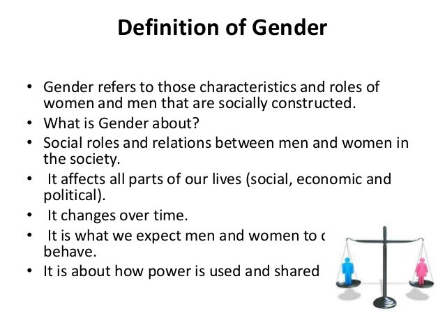 the concept of a middle form of gender In the context in which they lived as middle class women's attention to their bodies therefore took the form of producing them as the concept of the.