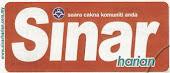 Tersiar dlm Sinar Utara pada 18 dan 19 Januari 2011
