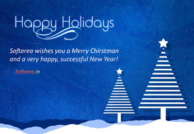 Happy Holidays Greeting Card (PSD)