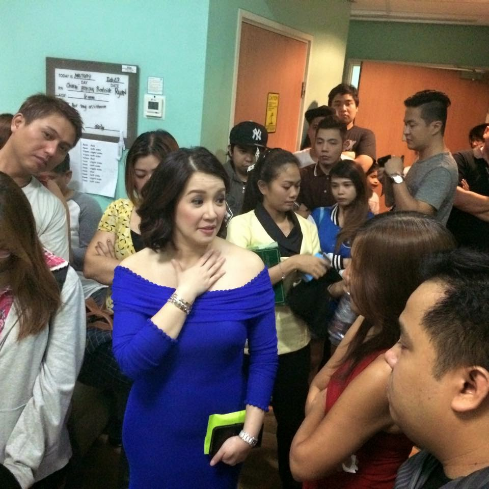 Kris Aquino visits Jam