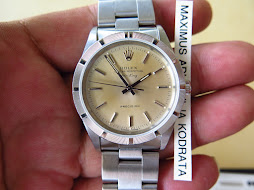 ROLEX OYSTER PERPETUAL AIRKING PRECISION SILVER CREAM DIAL - ROLEX 14010
