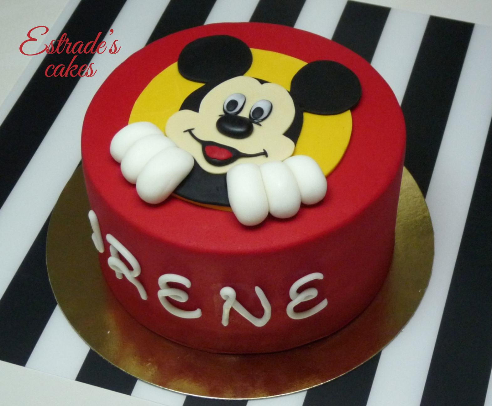 tarta Mickey Mouse - 2