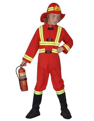 Børnekostume Brandmænd