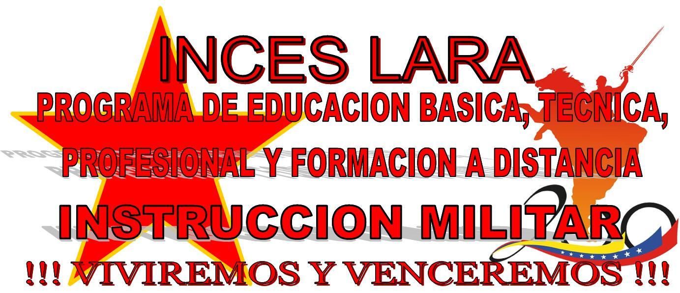 INCES LARA PRE-MILITAR