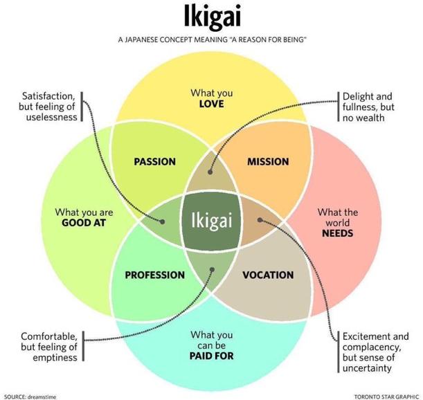Japanese secret: IKIGAI