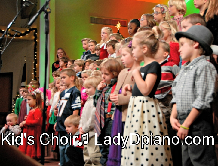 children's sunday school choir