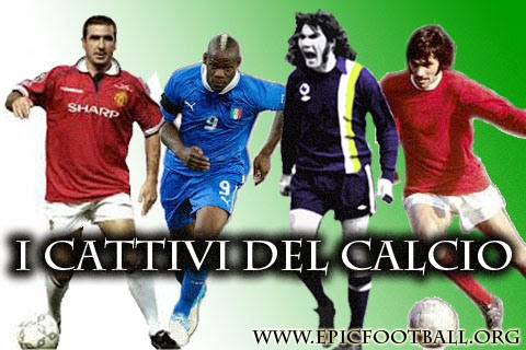 classifica cattivi calcio sempre george best robin friday mario balotelli eric cantona