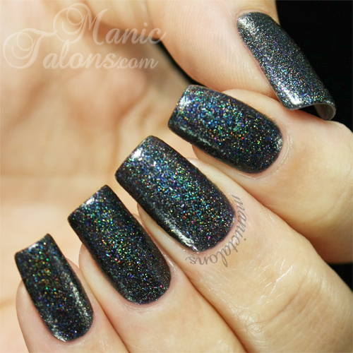 Glam Polish That Old Black Magic Swatch