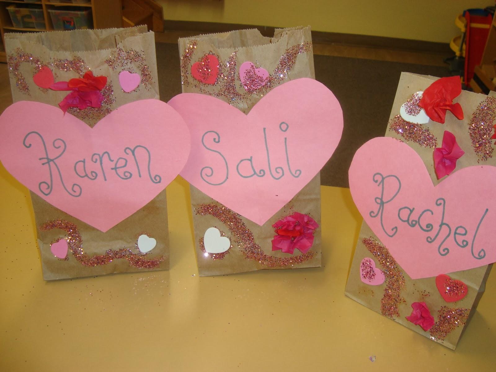 St. Catherine\'s Preschool: A Sweet Month at Preschool, February 2014