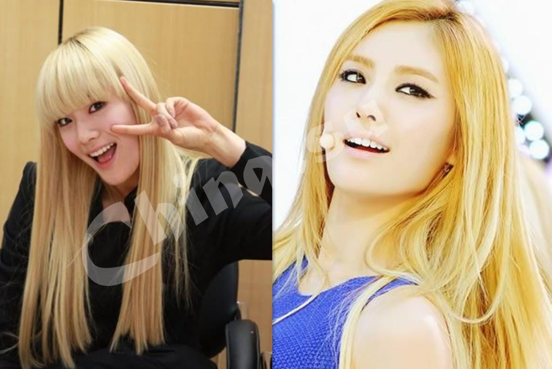 chimci chinatsu 10 idol wanita k pop dengan rambut blonde