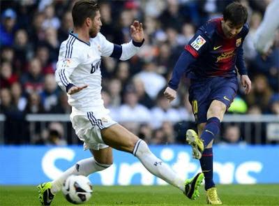 Cuplikan Video Gol dan Hasil Pertandingan Real Madrid vs Barcelona 2 Maret 2013 Liga Spanyol www.hardika.com