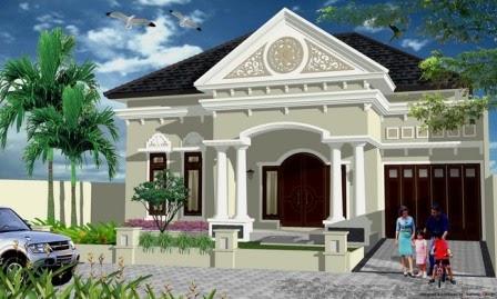 model rumah klasik modern - eko juli saputra