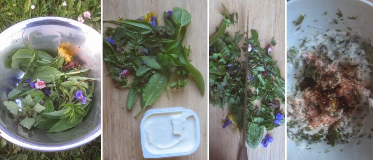 Zubereitung Frühlingskräuterquark, Kräuterquark