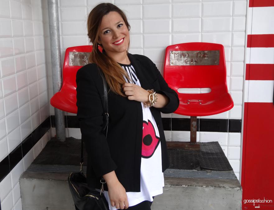 look choies en blanco y negro olga gigirey gossips fashion week gossipsfashionweek