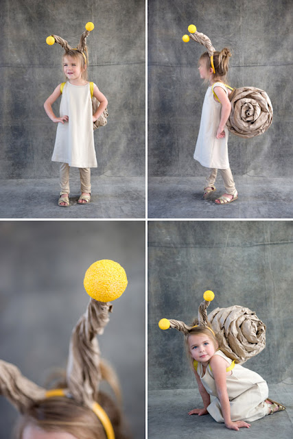 DIY Last Minute Costume Ideas, diy snail costume, snail