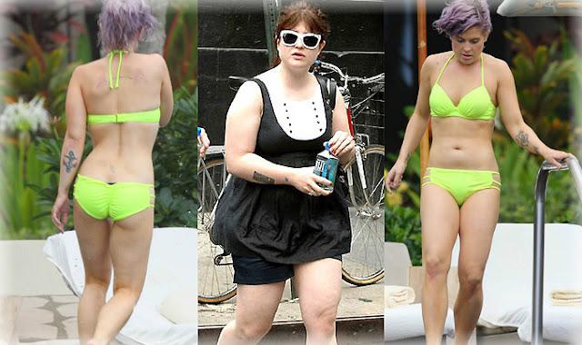 Antes y después de Kelly Osbourne - Farándula Internacional - Parejas Disparejas