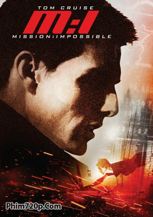 Mission Impossible I 1996 poster