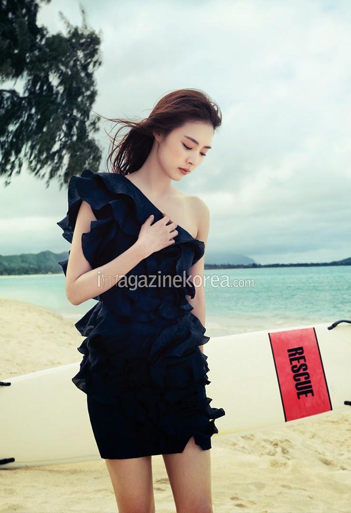 Lee Yeon Hee - Harper's Bazaar Magazine April Issue 2014