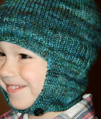 Pattern: NeckWarmer/EarFlap Hat