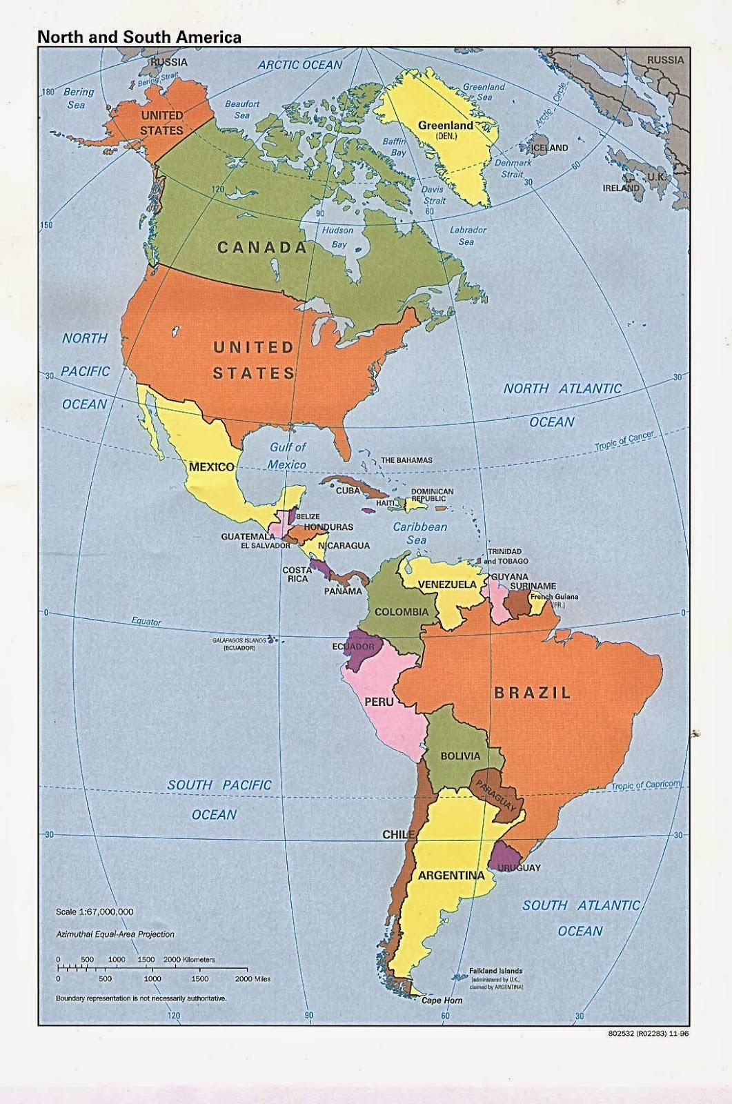 ENTENDER LA SOCIEDAD El continente americano