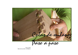 Trabajar con madera: Colas de milano