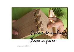 Trabajar con madera: Colas de milano