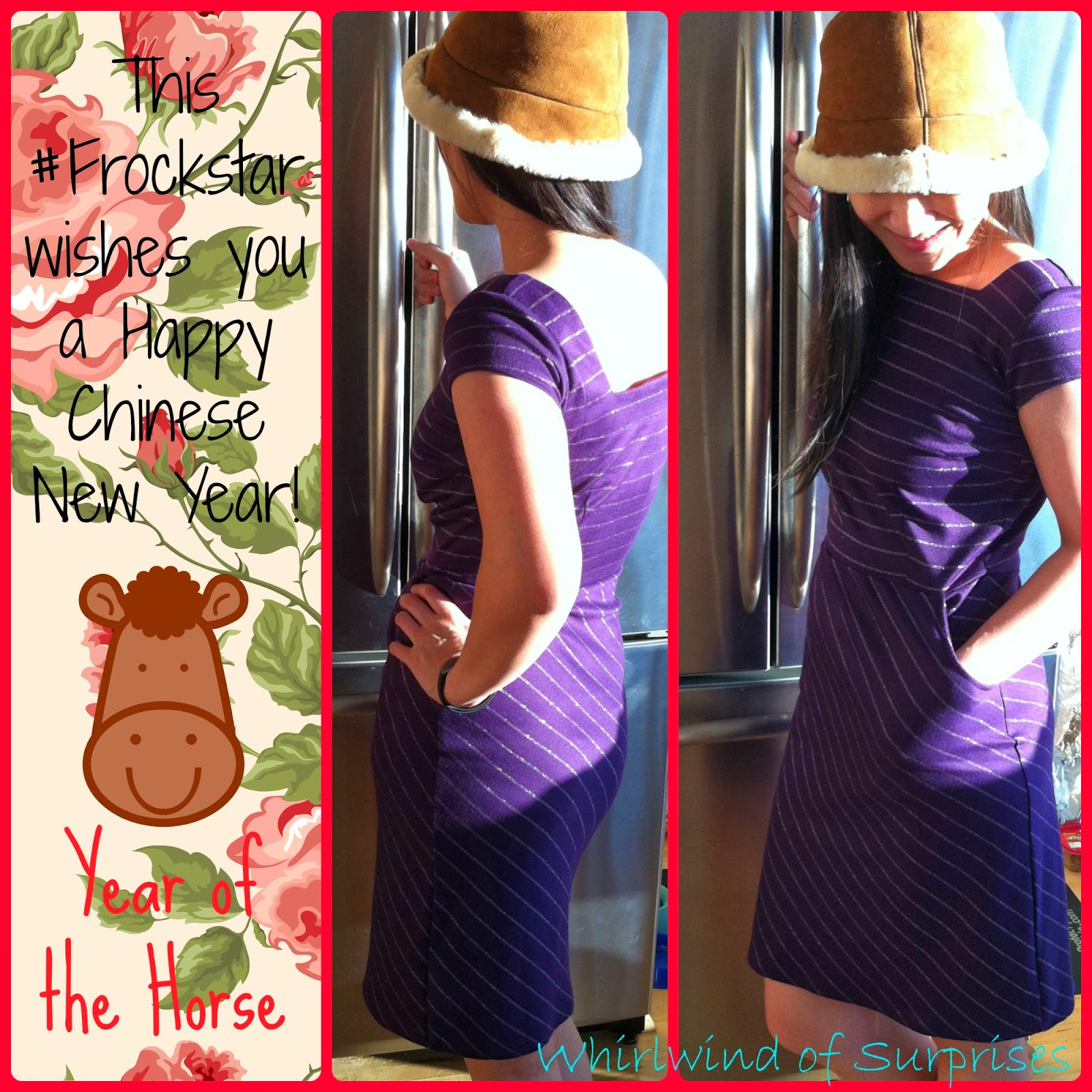 #Frockstar wishing you Happy Chinese New years, #YearoftheHorse