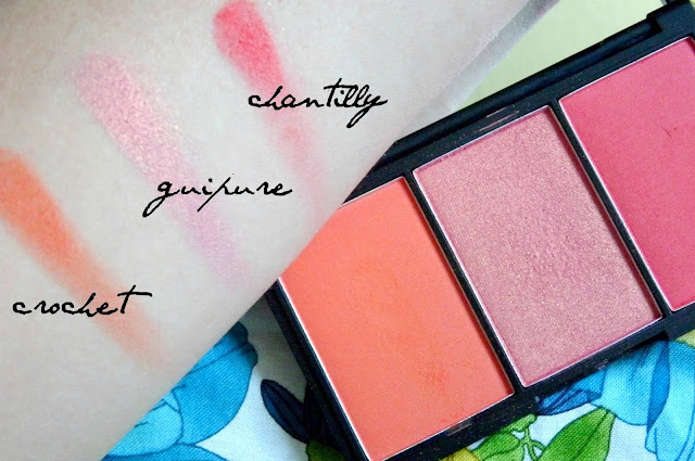 Crochet, Guipure, Chantilly Blush
