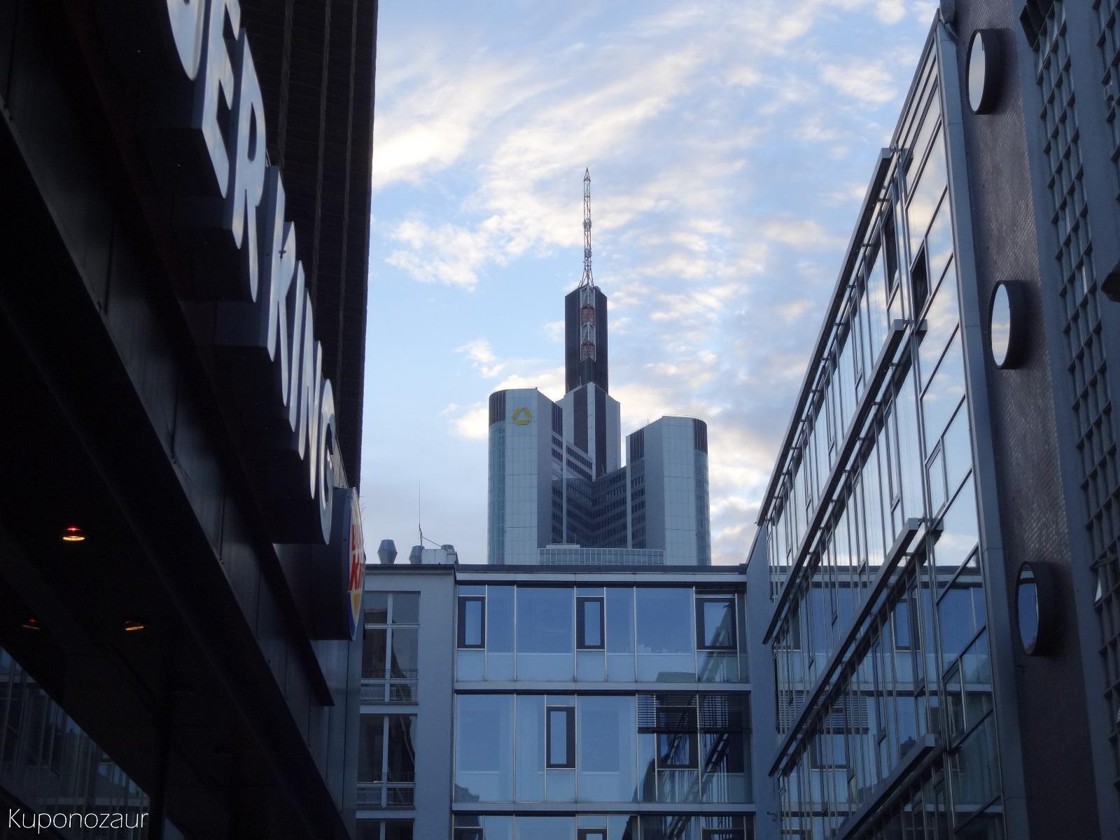 Frankfurt wieżowiec Commerzbank Tower
