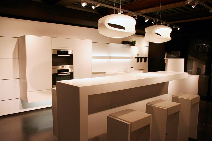futuristic kitchen interior design by eggersmann - Futuristic Kitchen