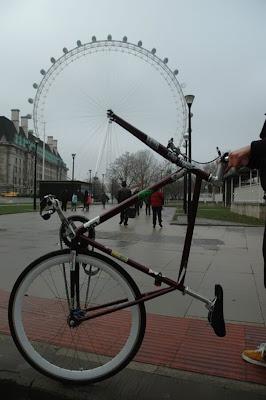 La rueda de la bicicleta es la noria