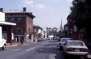 Lexington's historic downtown area