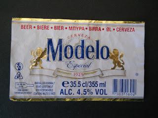 cerveza mejicana Modelo especial