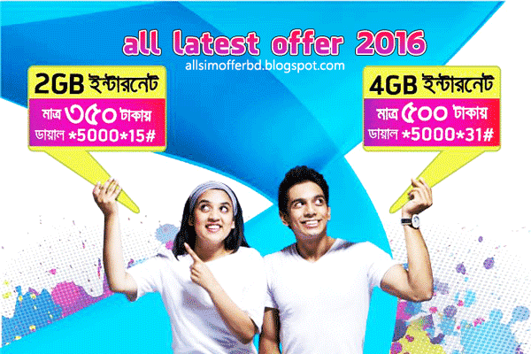 All gp internet offer 2016 - Grameenphone Internet Package