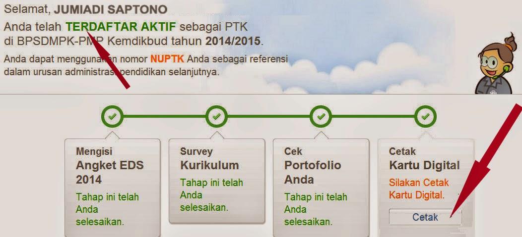 Cara MUDAH Mencetak Kartu DIGITAL Identitas Padamu Negeri 2014