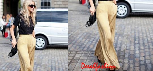 Trend Pallazo Pants StreetChic