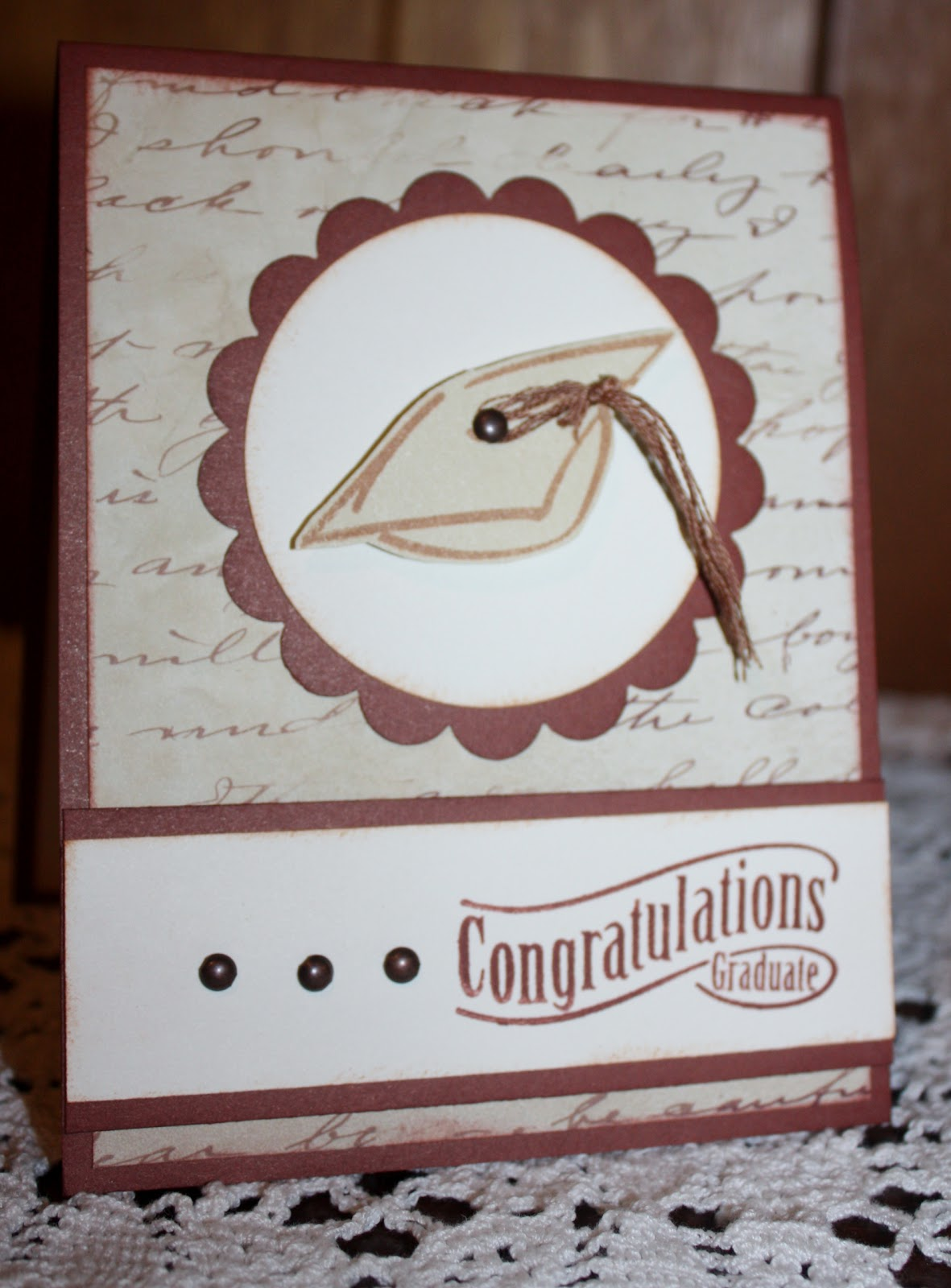 how to make a graduation cap for cards