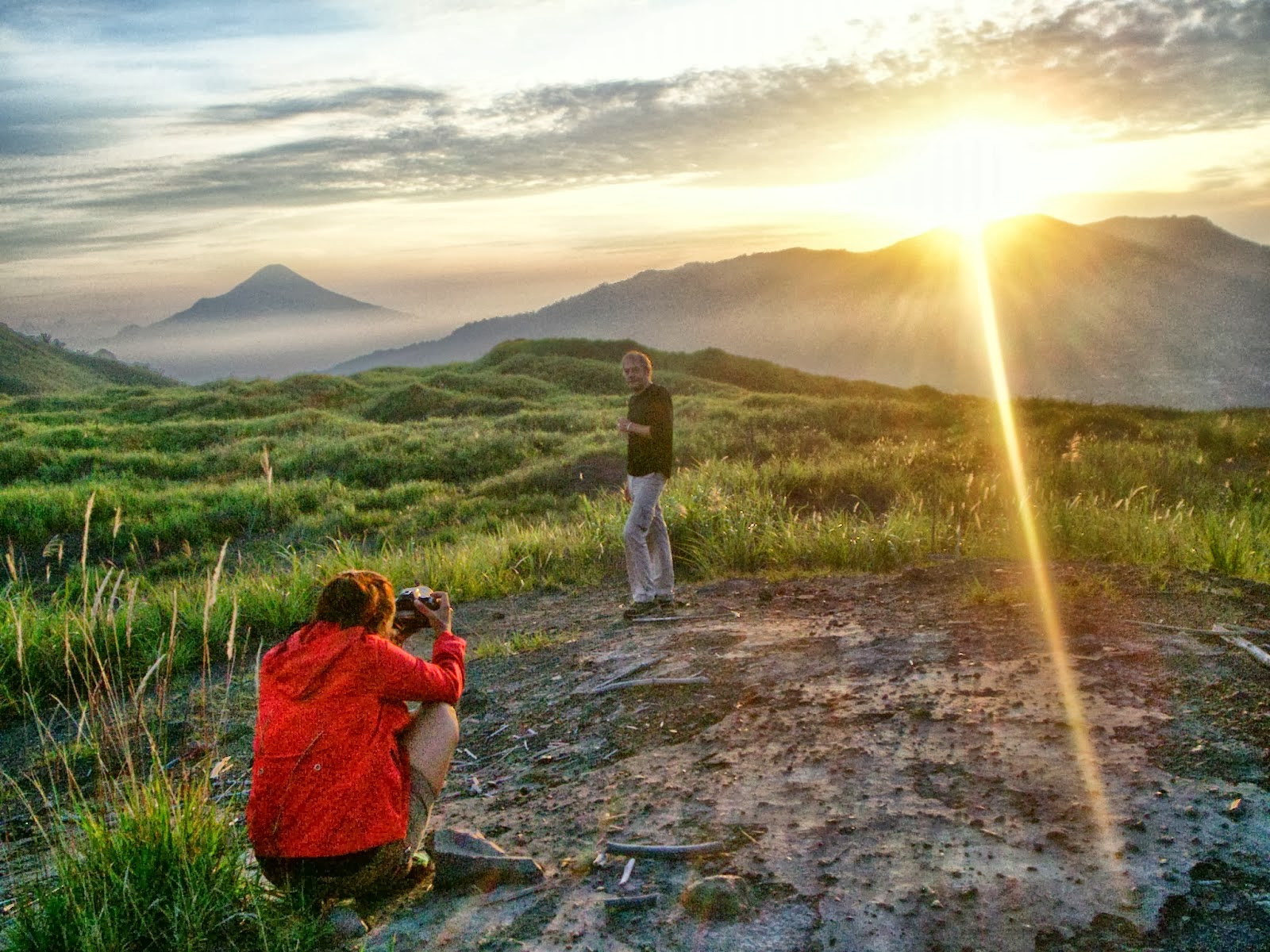 sulawesi volcanoes,highland and wildlife tour