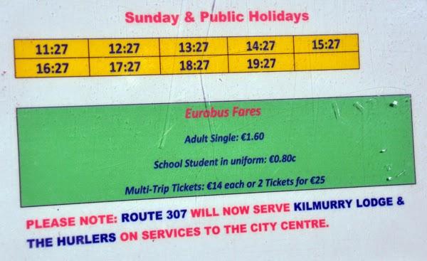 Irland 2014 - Tag 1 | Busfahrt ins Stadtzentrum von Limerick