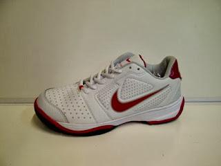 Sepatu Nike Tenis putih merah,Sepatu Nike Tenis putih murah,