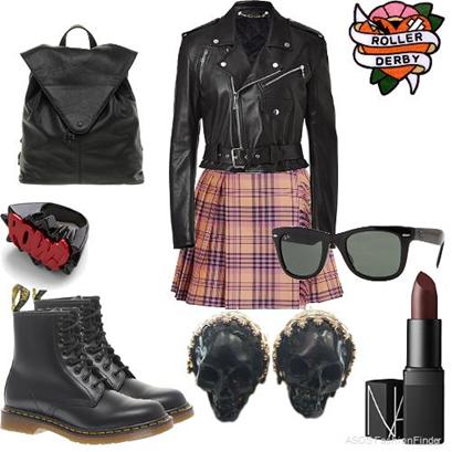 Punk School Girl
