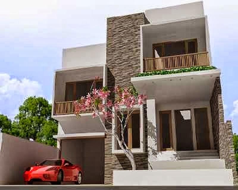 model rumah minimalis perkotaan 4