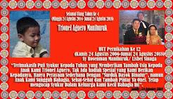 Selamat Ulang Tahun Ke 4 Anakku Trionel Aguero Manihuruk