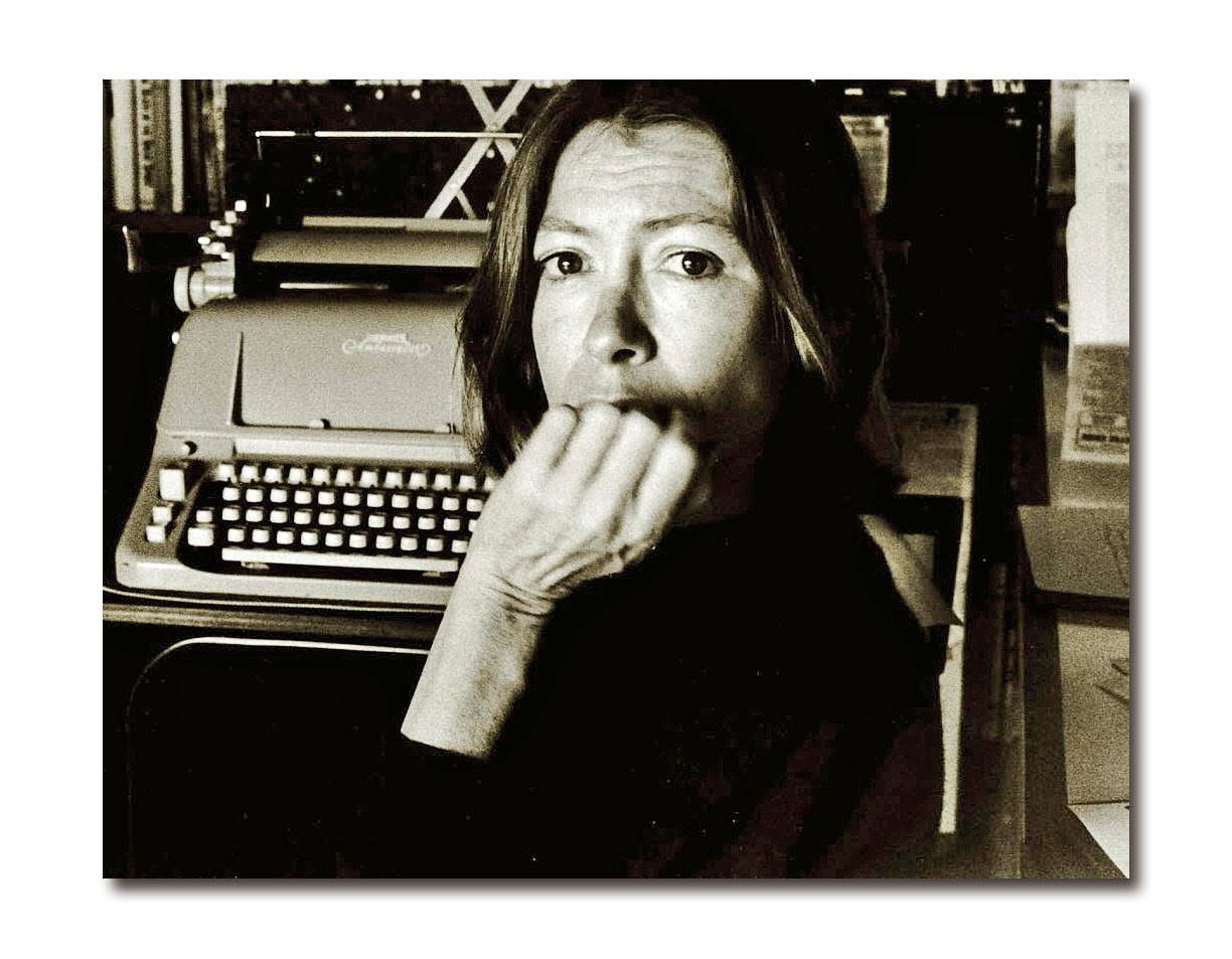 in the market report joan didion