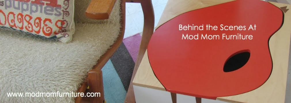 Behind the Scenes at Mod Mom Furniture