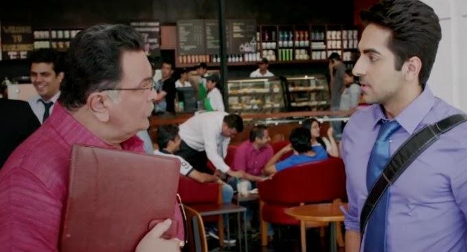 "Ayushmann khurrana From Film ""Bewakoofiyaan"""