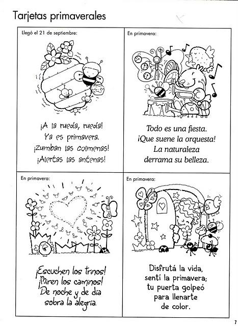 ESOS LOCOS BAJITOS DE INFANTIL: POESIAS DE PRIMAVERA