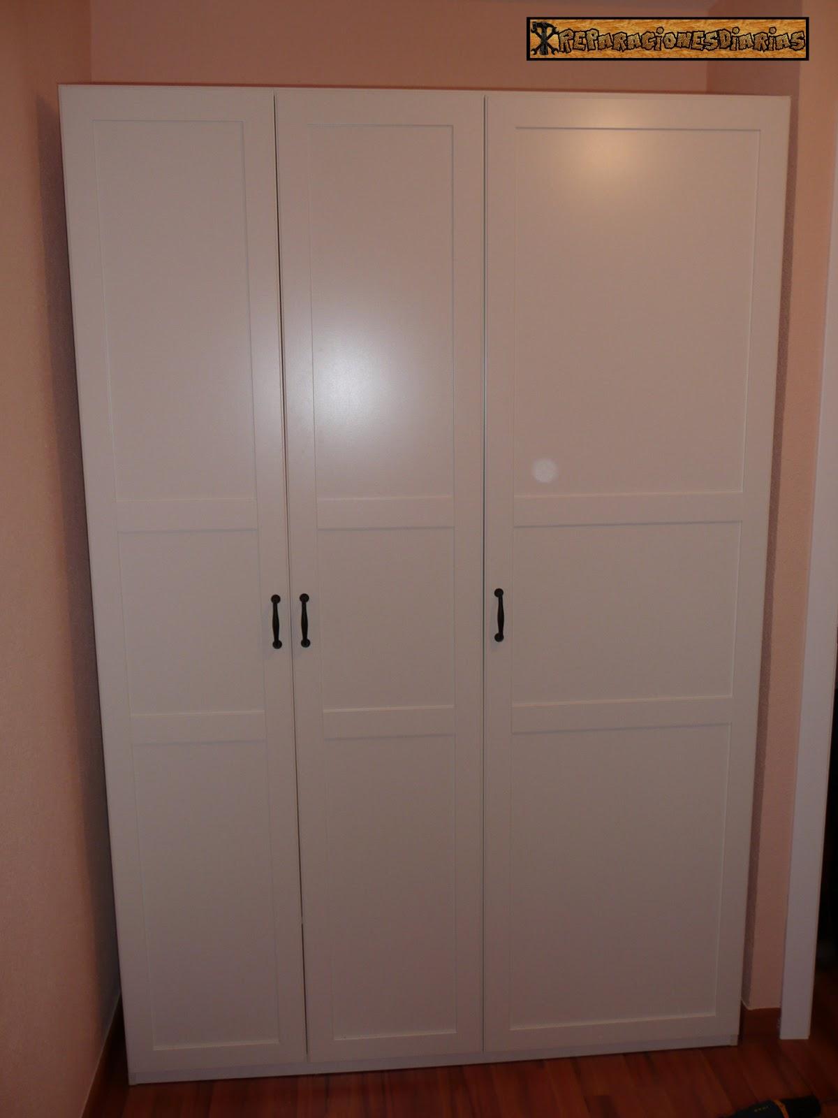 Reparacionesdiarias montaje de un armario para una - Armarios para habitacion ...
