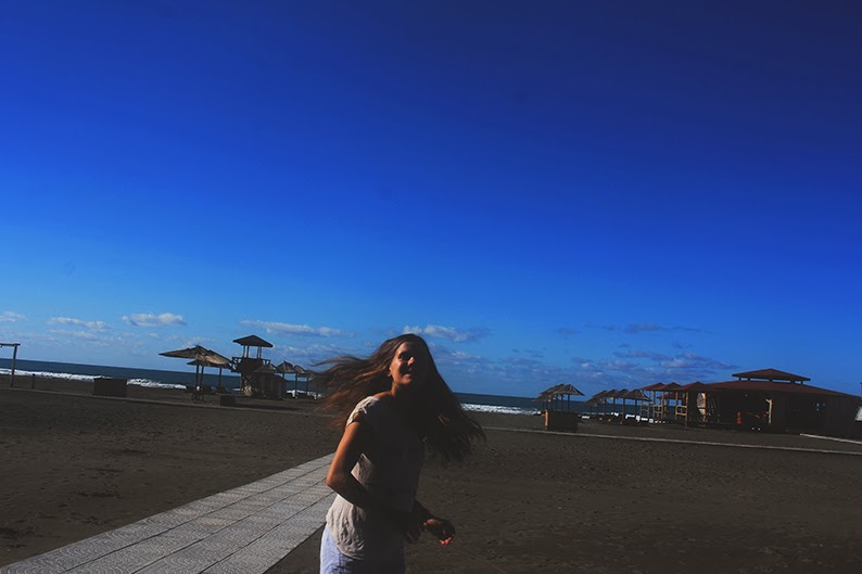 plaża w czrnogórze