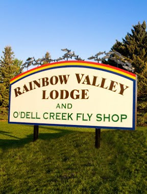Rainbow Lodge Sign